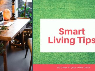 Smart Living Tips For Green Home Office