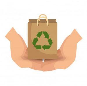Reuse & Repurpose - eco friendly living room