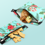 Friendly Turtle Reusable snack bag made from PVC and vinyl free materials