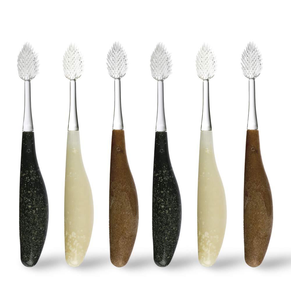 Radius recycled handle toothbrush
