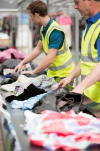 Recover Brands recycled fabric clothes reducing waste