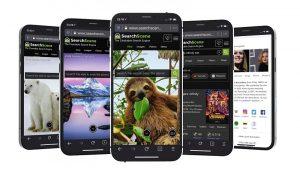 searchscene-green-search-engine-app