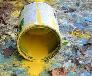 Harmful paints should be avoided