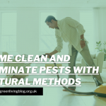 How To Keep Your Home Clean & Eliminate Pests With Natural Methods